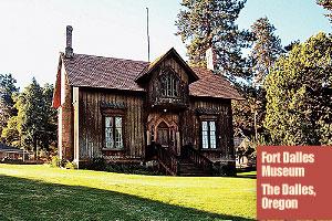 Fort-Dalles-Museum-The-Dalles-Oregon-surgeons-quarters