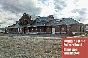 Northern-Pacific-Railway-Depot-Ellensburg-Washington
