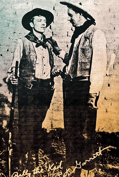 The fake photo of Billy the Kid and Pat Garrett I bought for a quarter at the Longhorn Museum. I didn't realize at the time that it would lead me to eventually own True West  magazine.
