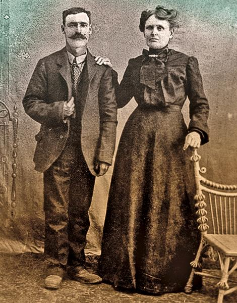 My great-grandparents Henry and Dolce Guess were from Texas. Dolce was originally a Wallace, and through her we claim relations to Bigfoot Wallace, the legendary Texas Ranger and Mexican War hero.