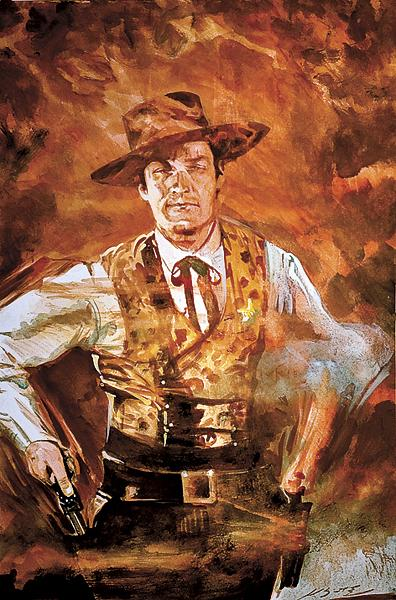 Bad men never stood a chance against a guy with a glass of milk and a Colt .45 like Hugh O'Brian's Wyatt Earp in The Life and Legend of Wyatt Earp that aired on ABC from 1955 to 1961.