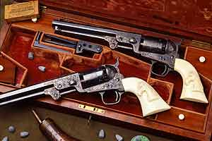 Cody-Firearms-Museum-Colt-revolvers
