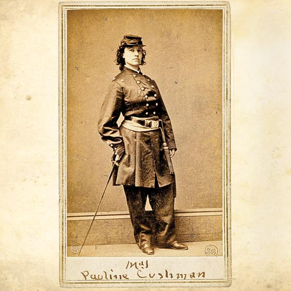 Pauline Cushman utilized her acting talent as a Civil War spy. She concealed Confederate battle plans in her shoes, but was caught and sentenced to death. She delayed her hanging by faking an illness and was reprieved when Union Troops attacked and Confederate soldiers fled without her.