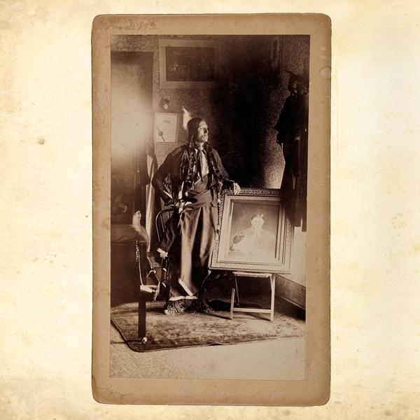 Cherished Photo of MomAt the age of nine, Quanah Parker, the eldest of Comanche father Peta Nocona and white mother Cynthia Parker's three children, lost his mother when she was taken by the Texas Rangers in 1860. In 1884, Quanah ran a newspaper advertisement in search of a photo of his mother, who had died before he could reunite with her. A.F. Corning, who took a daguerreotype of Cynthia with Quanah's sister in 1862, responded. Quanah, at last, had a photo of his mother.– Courtesy Cowan's Auctions, December 9, 2009 –