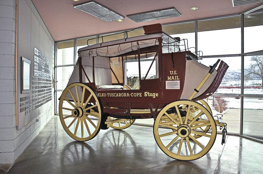 #7 Elko, NevadaThe Northeastern Nevada Museum's History Gallery provides visitors with an introduction to numerous aspects of the region's history, including transportation, such as stagecoaches, used to help settle the Great Basin.– Courtesy TravelNevada –