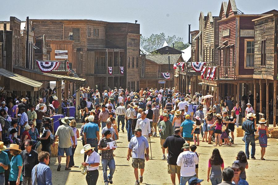 #10 Santa Clarita, CaliforniaFor a century the Melody Ranch Motion Picture Studio has been a favorite for Western filmmakers and, since 1994, the Santa Clarita Cowboy Festival has celebrated its glorious film-production past.– Courtesy City of Santa Clarita –