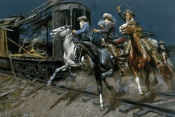 Sundance-and-the-Wild-Bunch-Hit-the-Union-Pacific-oil-by-Andy-Thomas