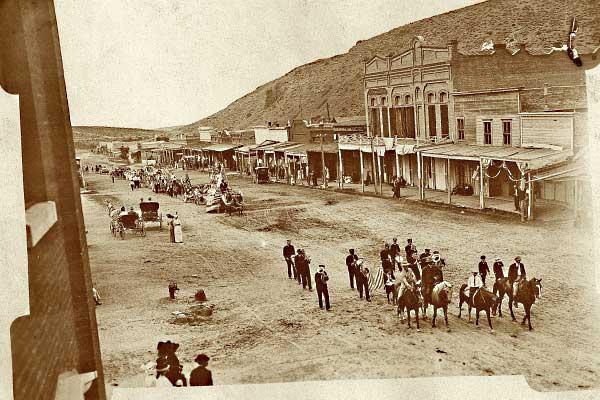Eureka Nevada Fourth of July parade 1913