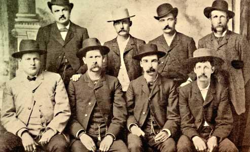 Dodge City Peace Commissioners-Luke short