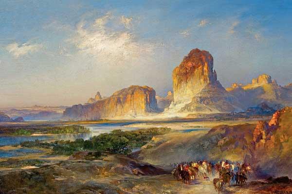 Thomas Miller Oil Painting Western