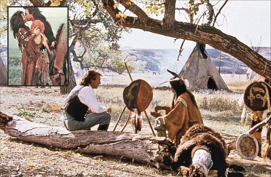 In 2007, Dances With Wolves was selected for preservation in the U.S.'s National Film Registry by the Library of Congress, along with 24 other films, which included the 1957 drama 12 Angry Men and 1955 musical  Oklahoma! The scenes of Union Army Lt. John Dunbar (Kevin Costner) with Sioux warrior Kicking Bird (played by Graham Greene) and Stands With a Fist (played by Mary McDonnell, inset) are among our favorite movie memories.