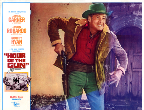 """""""Hour of The Gun"""" movie lobby poster, 1967"""