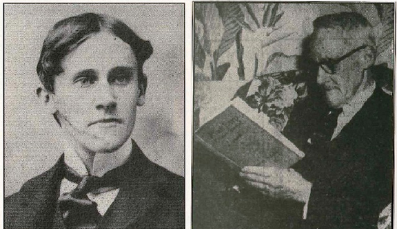 John Flood as a young man and as an older reader of fine fiction.