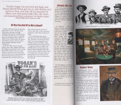 Wyatt Earp holding off the mob in Classic Gunfights II