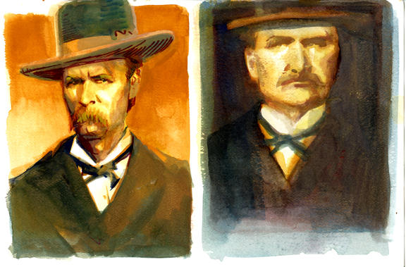 """Daily Whip Out: """"Wyatt Earp And His Younger Brother Warren"""""""