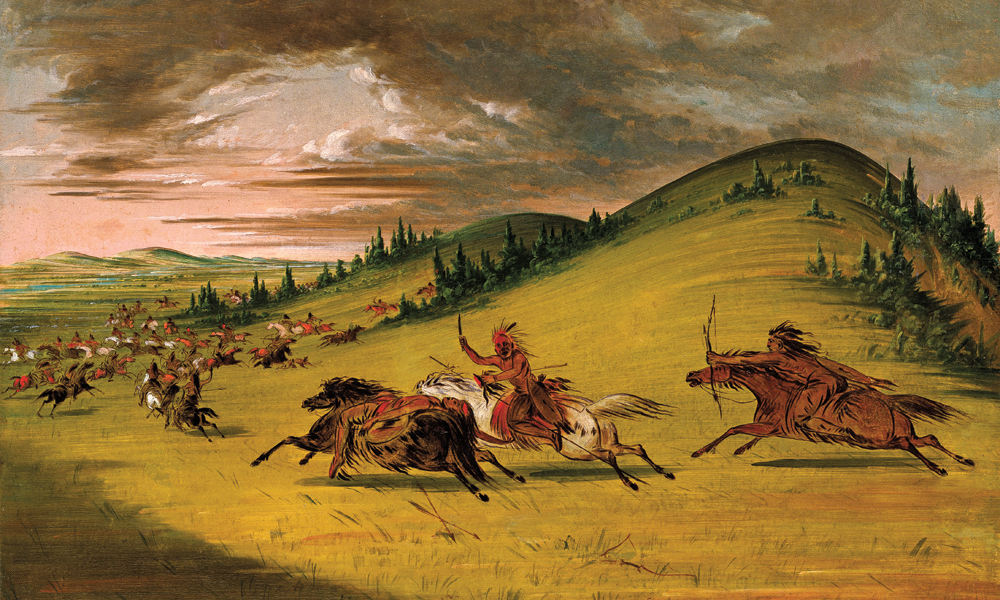 Famous Great Frontier Painting