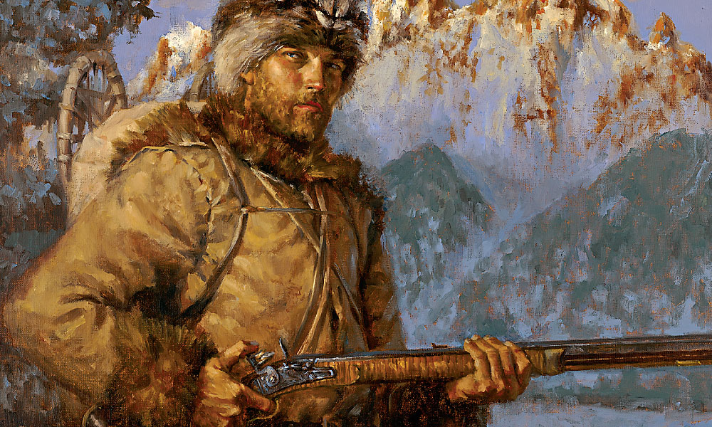 Mountain Man by William Ahrendt   Oil   LegacyGallery.com