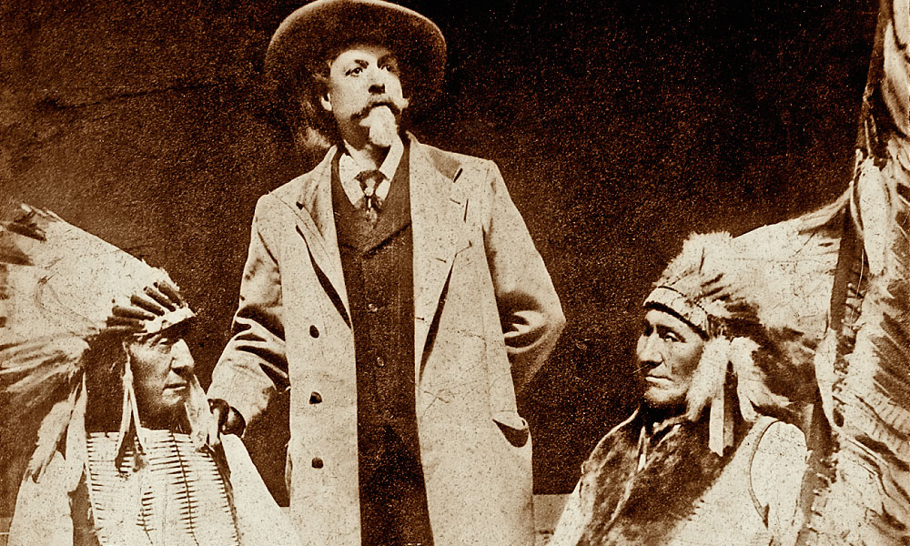 Ogalala Lakota Leaders Red Cloud and American Horse with Buffalo Bill Cody