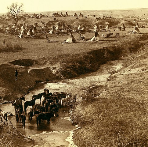 WK_Lead_great-hostile-Indian-camp-photograph-taken-by-John-C-H-Grabill