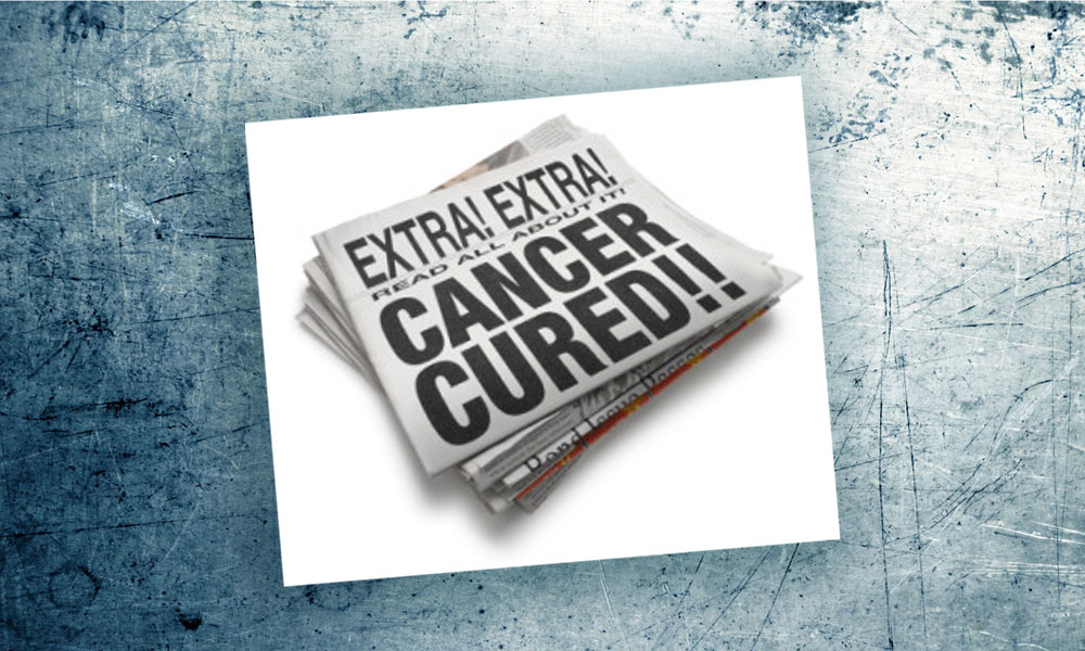 Cancer Cure Headline
