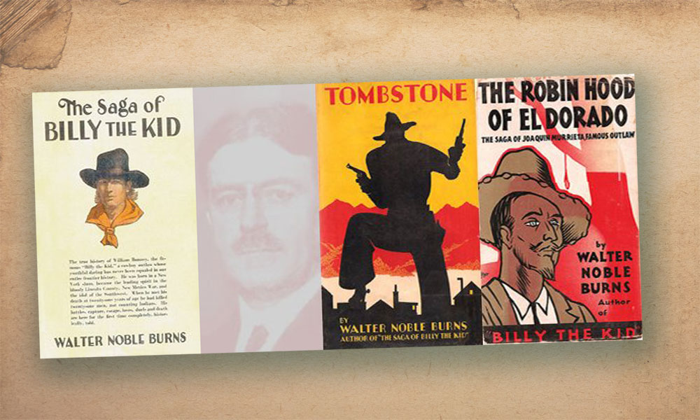 Walter Noble Burns Book Covers