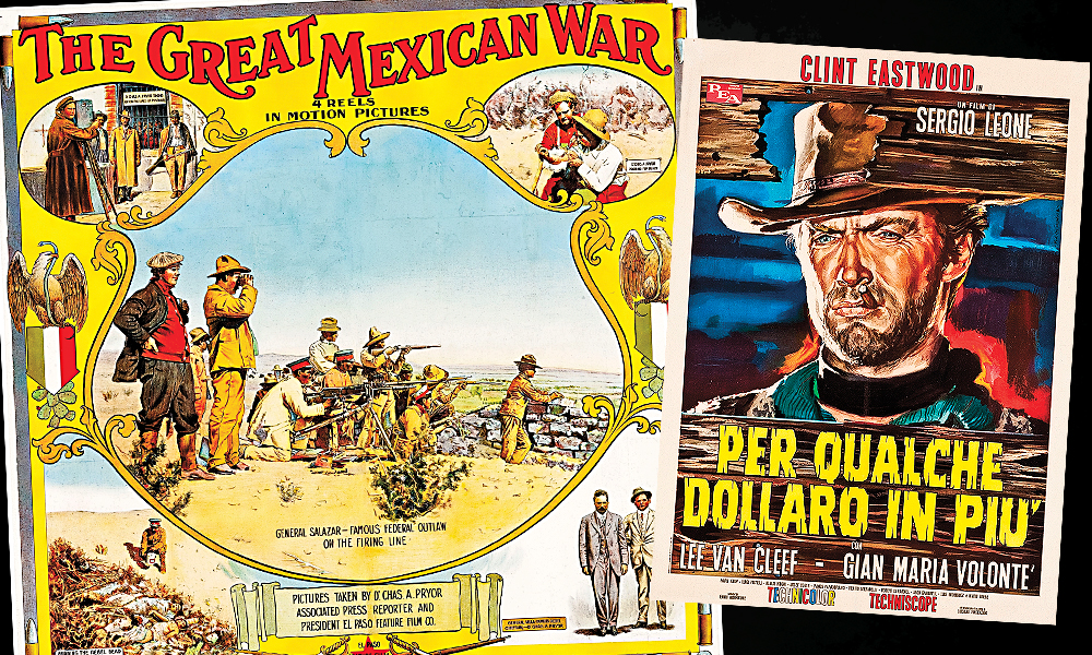 The movie poster for The Great Mexican War, released in 1914, was featured in an episode of PBS's History Detectives about Pancho Villa and the Mexican Revolution before a collector successfully bid $5,500 for the poster, and a war broadside, at Heritage Auctions.
