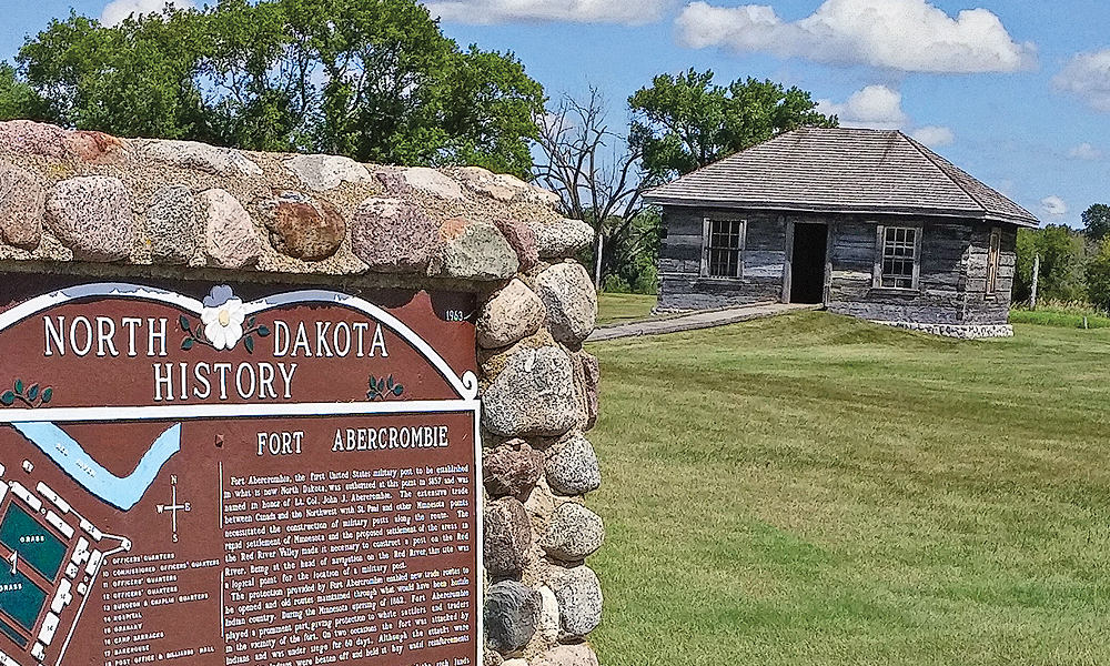 The first settlers of what became Dakota Territory relied on Fort Abercrombie for protection and supplies. – By Jana Bommersbach –