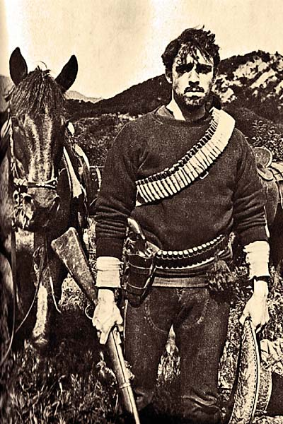 When images of Raoul Walsh as a young Pancho Villa flashed before documentary filmmaker Gregorio Rocha's eyes, he knew he had struck gold. – Courtesy Mutual Film Corporation –