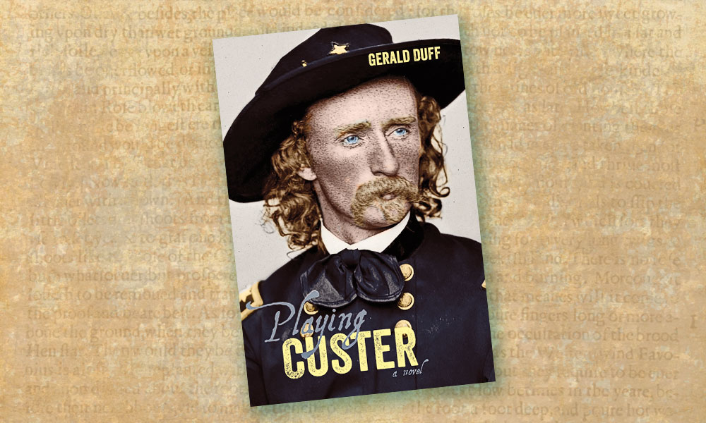 Playing Custer: A Novel book cover