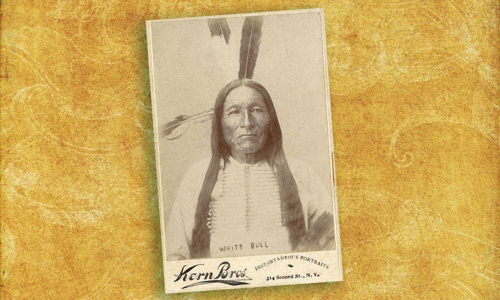 White Bull, the warrior who killed Custer