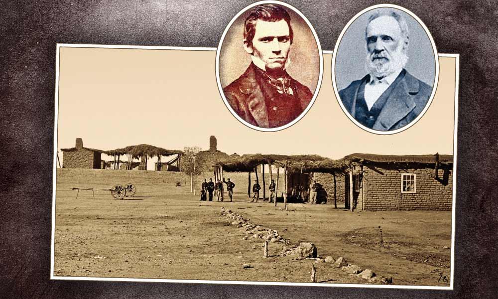 IH_Arizona-Territory-Grant-Camp_Royal-E.-Whitman_left_William-S.-Oury_right-