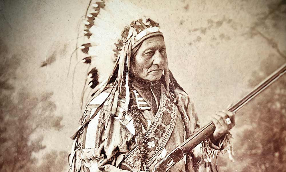 Since his murder 126 years ago, the legacy of Chief Sitting Bull's life and leadership has defined the struggles between the Plains Indian tribes and the American settlement of the Northern Plains and Rocky Mountains. – True West Archives –
