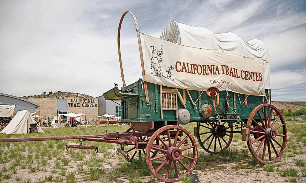 The California Trail Interpretive Center in Elko is a living history museum featuring numerous events throughout the year—including Trail Days with an 1850 Wagon Encampment and Shoshone Summer Camp every June. – All images courtesy TravelNevada unless otherwise noted –
