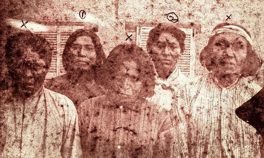 Apache Kid and Prisoners
