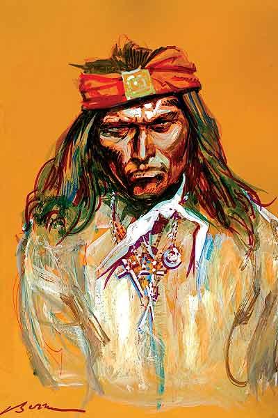 Illustration of Apache Kid