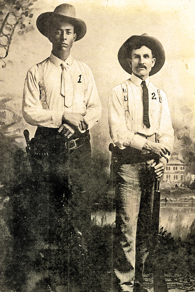 Frank Hamer and Oscar Latta 1908
