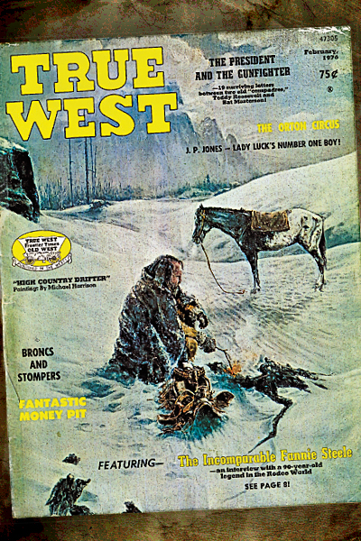 The Cover of the True West issue that DeMattos' article appeared.
