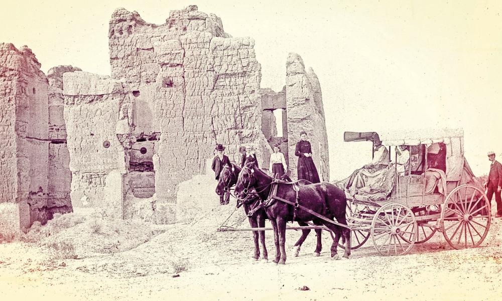 Casa Grande ruins, 1870