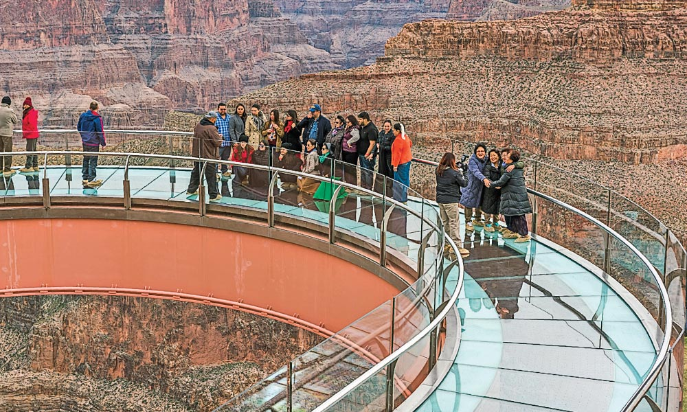 Hualapai Tribe's Skywalk at Grand Canyon West