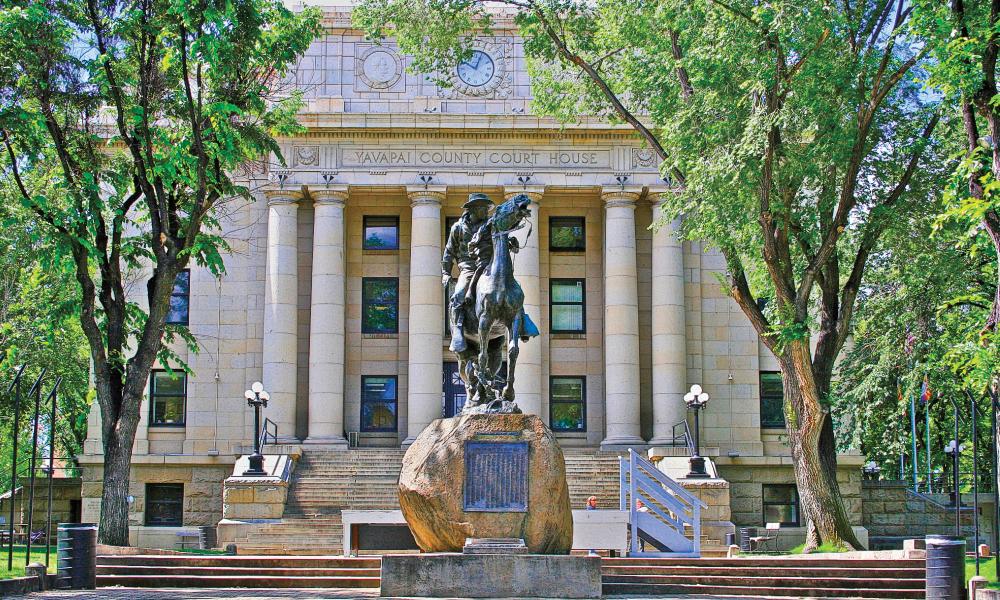 Courthouse Plaza, Prescott, AZ