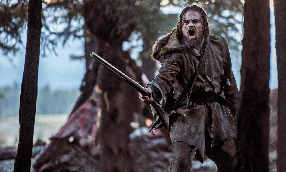 Still of Leonardo DiCaprio in The Revenant