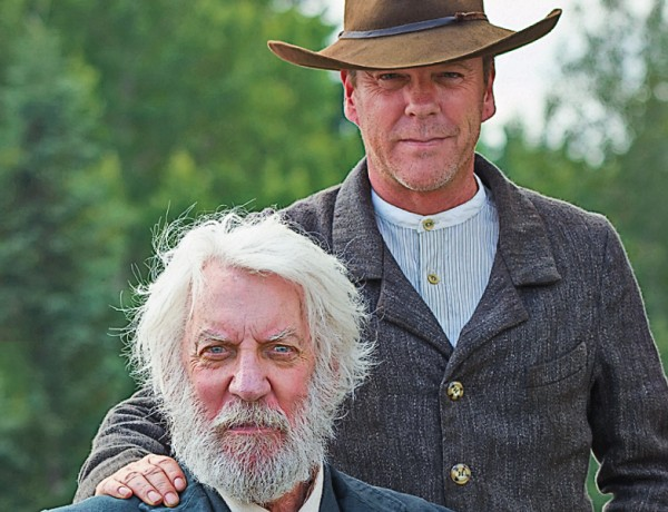 Donald and Kiefer Sutherland
