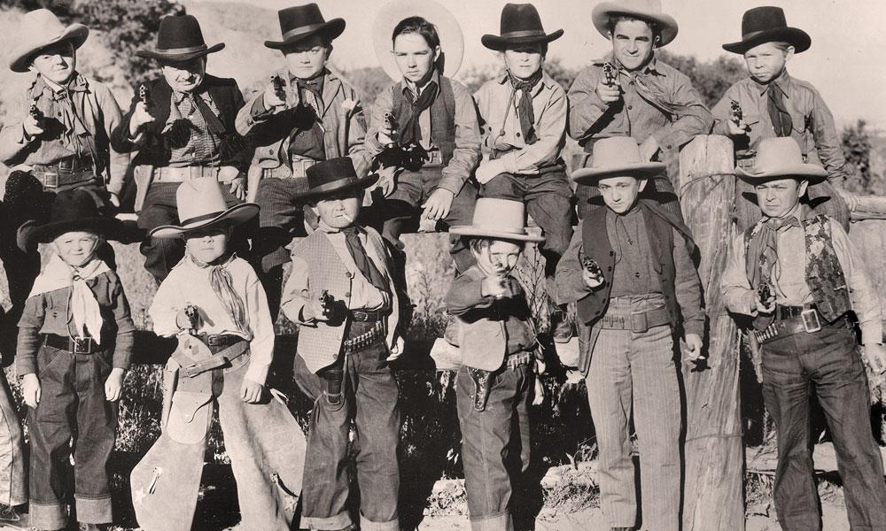 Terror of Tiny Town cast