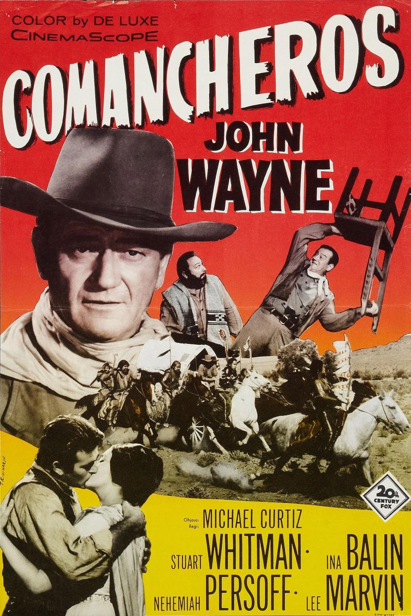 The Comancheros movie poster