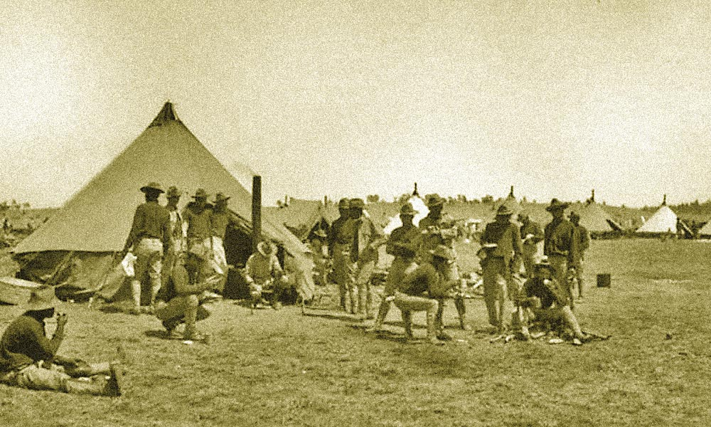Photograph of Buffalo Soldiers