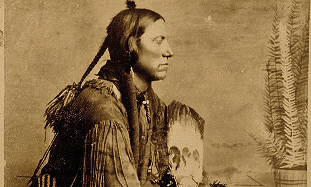 Photograph of Chief Quanah Parker