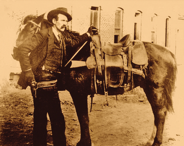 Is this a photo of Wyatt Earp? - Courtesy Tom Isler -
