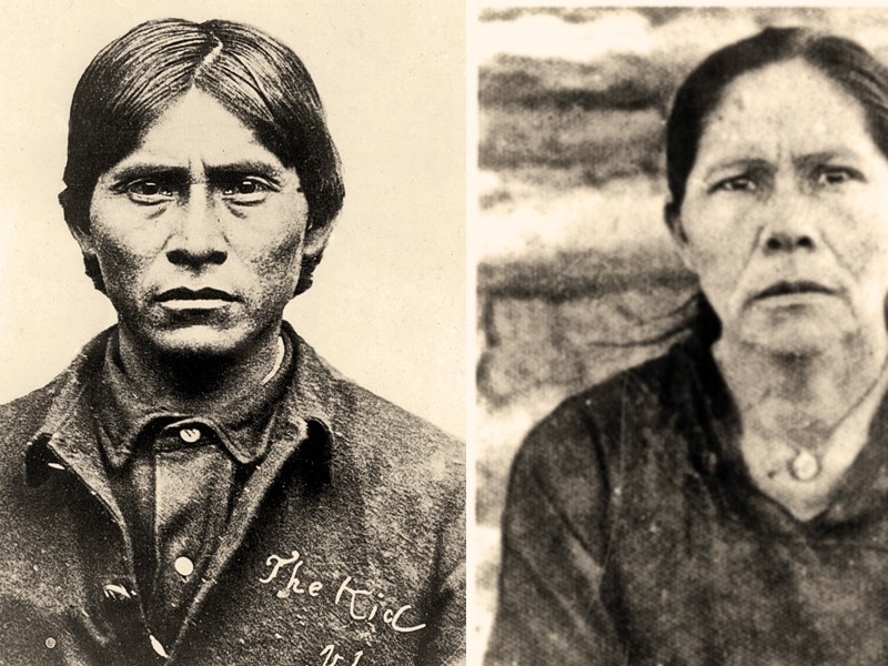 """Compare this headshot of Guadalupe """"Lupe"""" Fimbres Muñoz with that of the Apache Kid and the resemblance, says Apache Kid biographer Phyllis de la Garza,  """"is impossible to deny. The dates, time, place and circumstance ring true....""""  – Courtesy Lynda A. Sánchez Collection –"""