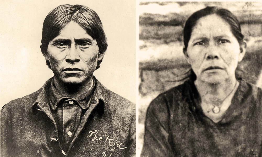 "Compare this headshot of Guadalupe ""Lupe"" Fimbres Muñoz with that of the Apache Kid and the resemblance, says Apache Kid biographer Phyllis de la Garza, ""is impossible to deny. The dates, time, place and circumstance ring true...."" – Courtesy Lynda A. Sánchez Collection –"