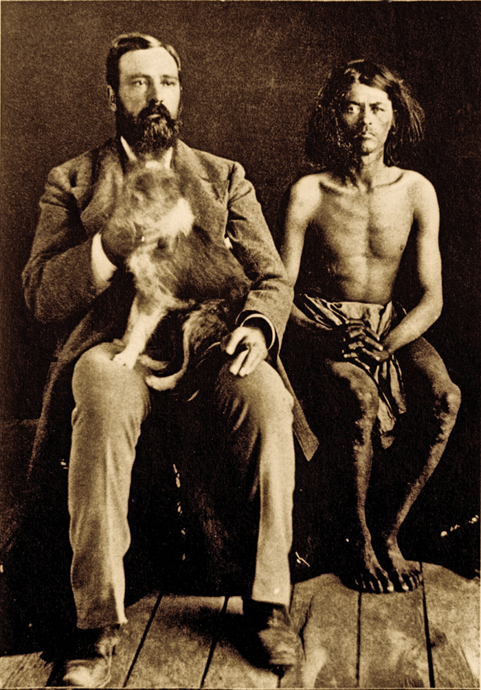 MF_Post-trader-William-S-Head-his-dog-Boss-and-regular-customer-Mickey-Free-at-Camp-Verde-c-1877_scaled